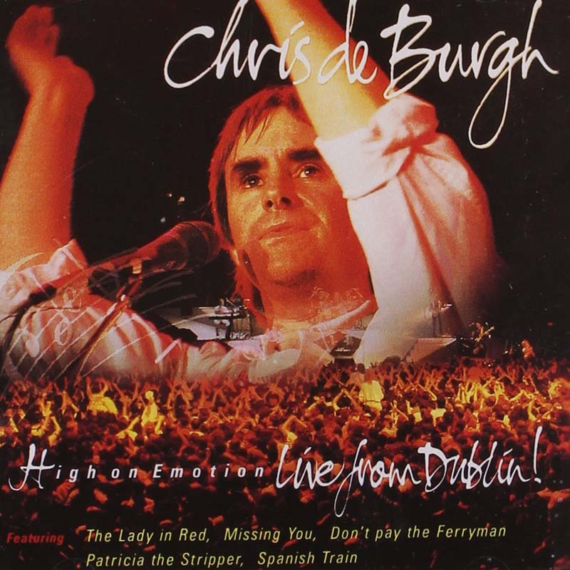 Chris De Burgh - High On Emotion - YouTube